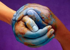 peace on earth hands