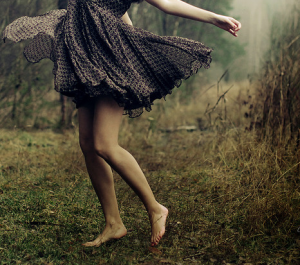 barefoot dance